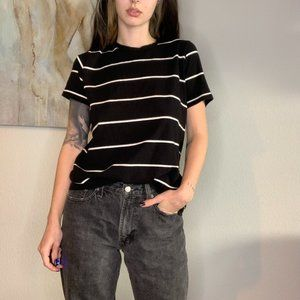 🔥2/$30 Brandy Melville B&W Oversized Shirt